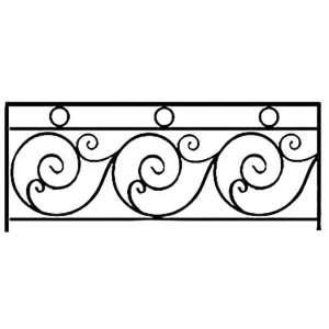 Балконы из металла