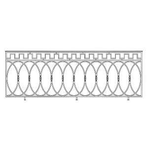 Балкон ограждение