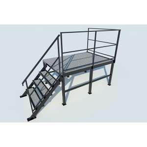 Металлические лестницы для крыльца