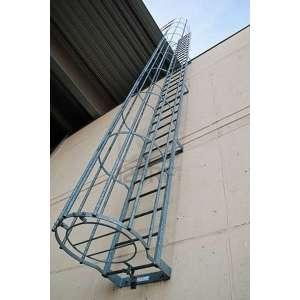 Металлические пожарные лестницы