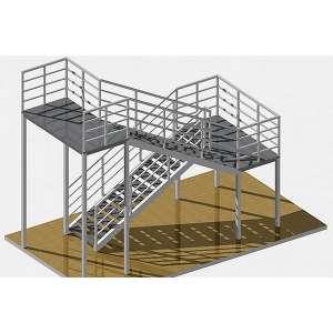 Каркасы металлических лестниц купить в СПб