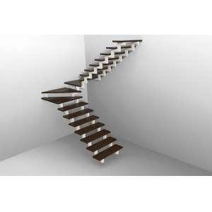 Лестница с забежными ступенями. Забежная лестница