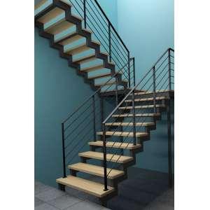 Металлическая лестница с площадкой СПб