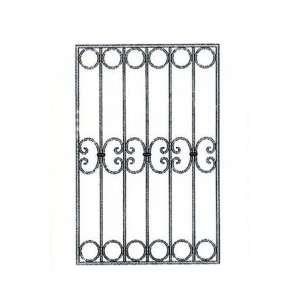 Эскиз металлической решетки