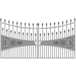 Ворота для дачи СПб