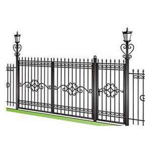 Купить распашные ворота в СПб