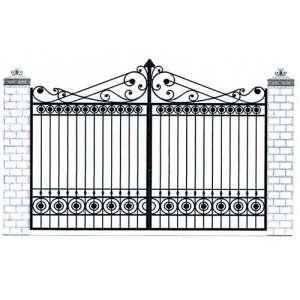 Ворота для дома цена СПб