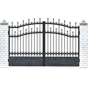 Распашные ворота СПб
