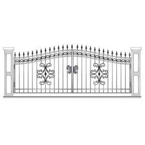 Ворота и заборы для частного дома СПб
