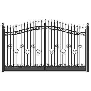 Ворота для дачи распашные СПб