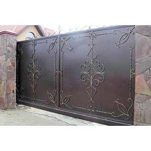 Откатные ворота под ключ в СПб