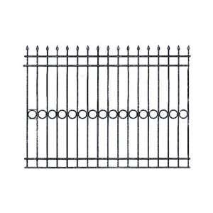 Забор на участке из металла