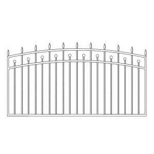 Забор для дома цена в СПб