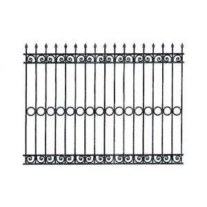 Железный (стальной) забор