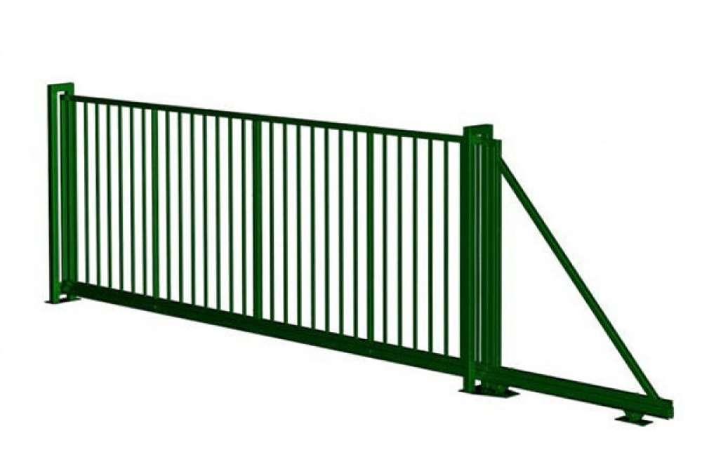 Откатные ворота купить в СПб