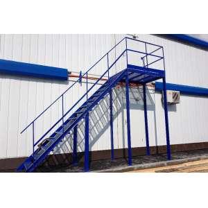 Эвакуационные и промышленные лестницы