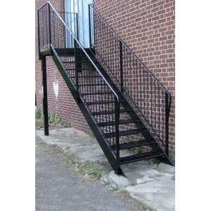 Лестницы металлические наружные